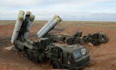 Sīrijā jau izvietotas draudīgās S-400 raķetes, ziņo medijs