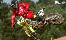 Latvijas motokrosists Leons Kozlovskis izcīna 9. vietu Pasaules kausā veterāniem