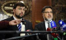 Doņeckas un Luhanskas separātisti atliek paredzētās vēlēšanas