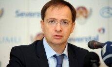 Krievijas kultūras ministrs: Latvijas un Krievijas kultūras sadarbībai netraucē politiskais spiediens