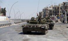 Sīrijas režīms pārvieto ķīmisko ieroču krājumus, norāda laikraksts
