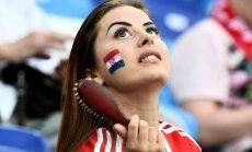 ФОТО: Как хорватские болельщицы мотивируют футболистов сборной на подвиги