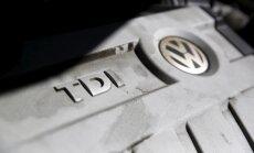 VW ir gatavs atpirkt 'dīzeļa skandālā' ierautos auto ASV