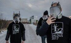 Vides draugi Saldū ceļ trauksmi par bīstamo atkritumu dedzināšanu