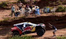 Sebastjens Lēbs uzvar arī Dakarā