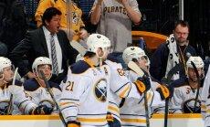 'Sabres' NHL pāreju pēdējā dienā aizmaina četrus spēlētājus