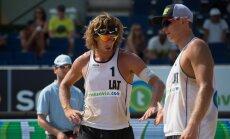 Samoilovs un Šmēdiņš izcīna trešo vietu Longbīčas 'Grand Slam' turnīrā