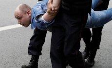Pretkorupcijas mītiņi Krievijā: Aizturēts Navaļnijs, Maskavā ap 800 aizturēto. Teksta tiešraides arhīvs