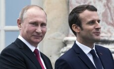 Сирия, Украина и права геев в Чечне: что обсуждали Путин и Макрон