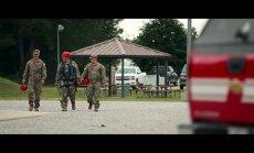 Video: Kā Latvijas Gaisa spēku ugunsdzēsēji kopā ar ASV kolēģiem trenējas