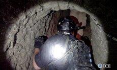 Uz Meksikas ASV robežas atrasts miljoniem vērts narkotiku 'supertunelis'