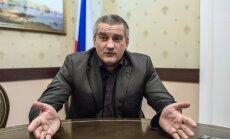 Krimas tatāru Medžliss 'neeksistē', paziņo anektētās pussalas vadītājs Aksenovs