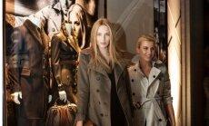 Лондонская мода в Риге: Burberry отметил свое открытие