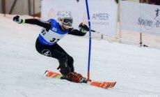 Baltijas kausā kalnu slēpošanā Latvijas jauniešiem divas uzvaras