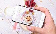 Снимки в Instagram делают людей толстыми