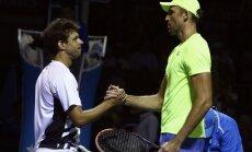 Tennis, Australian Open, Ivo Karlovic (R) vs Horacio Zeballos