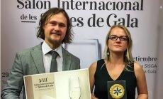 Latvijas sidrs 'Mr.Plūme' izcīna zelta medaļu Spānijā