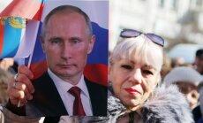 Putins topošā dokumentālā filmā ataino Krimas aneksiju kā glābšanas operāciju