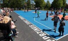 Tukumā taps Kristapa Porziņģa basketbola laukums