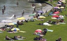 Vairāk nekā 20 Eiropas valstīs spēkā brīdinājums par lielu karstumu