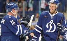 Indraša gūtie vārti neglābj Maskavas 'Dinamo' no zaudējuma KHL čempionāta spēlē