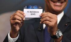 PSG pret 'Barcelona' un 'Arsenal' pret 'Bayern' – izlozēti Čempionu līgas astotdaļfināla pāri