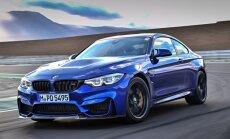 Jaunais 'BMW M4 CS' ar 460 ZS par 117 tūkstošiem eiro