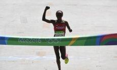 Dopinga lietošanā pieķerta Rio olimpiskā čempione maratonā
