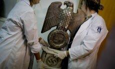 Foto: Argentīnā atrasta nacistu lietu krātuve