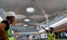 Jaunajā Stambulas lidostā aiztur simtiem streikojošu strādnieku