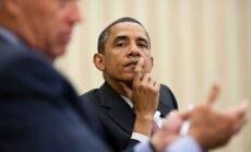 Obama valdības darba apturēšanā vaino republikāņu 'ideoloģisko krusta karu'
