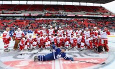Detroit - Toronto, NHL Centennial Classic Alumni Game