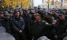 Бойцы Нацгвардии Украины прекратили акцию протеста