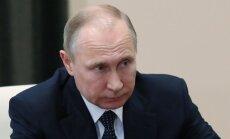 Putins: ASV un tās sabiedroto uzlidojums Sīrijai ir agresija