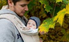 Topošos tētus bezmaksas lekcijās aicina izglītoties par jauno lomu ģimenē