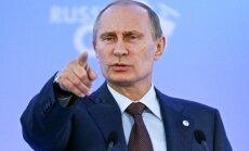 """ВИДЕО: Поклонники президента России готовят выставку """"12 подвигов Путина"""""""