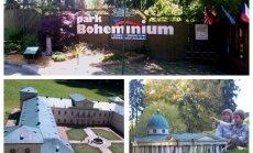 Bohēmijas miniatūru parks – vieta, kur vienkopus apskatīt Čehijas slavenākās celtnes