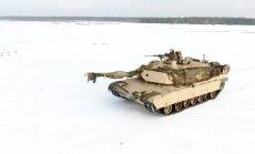 Video: NATO tankisti Žagaņā trenējas šaušanā