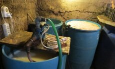Foto: Rēzeknē likvidē nelikumīga alkohola ražotni