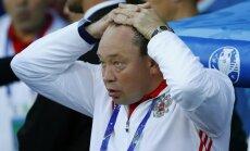 Russia s coach Leonid Slutski