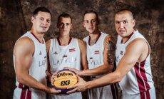 Latvijas 3x3 basketbola izlase Pasaules kausa turnīru Filipīnās sāk ar divām uzvarām