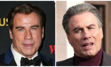 Foto: Džons Travolta piedzīvojis kardinālas pārvērtības