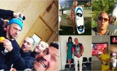 Jestri un pikanti: gada spilgtākie latviešu slavenību privātie foto