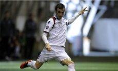 'Jelgavas' futbolisti liek 'Ventspils' komandai bez uzvaras palikt trešajā mačā pēc kārtas