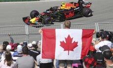 Verstapens ātrākais visos trijos Kanādas 'Grand Prix' treniņbraucienos