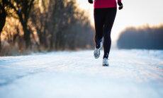 Sportošana ziemas dzestrumā: fitnesa trenera ieteikumi, ko vērts likt aiz auss