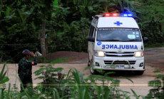 Glābšanas operācija noslēgusies: izglābti visi 12 alā Taizemē iesprostotie zēni