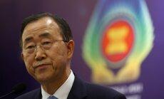 Bēgļu problēma atsegusi solidaritātes krīzi, norāda ANO ģenerālsekretārs