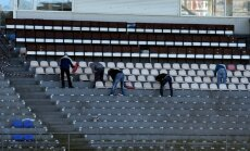 Futbola izlase 'Skonto' stadiona ķildas dēļ atkal varētu palikt bez mājām