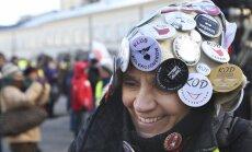 Poļi protestē pret Varšavas teritorijas paplašināšanu